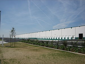 Shafter, California - Logistics hub located in Shafter, California