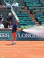 Paris-FR-75-open de tennis-2017-Roland Garros-stade Lenglen-arrosage de l'arène-11.jpg