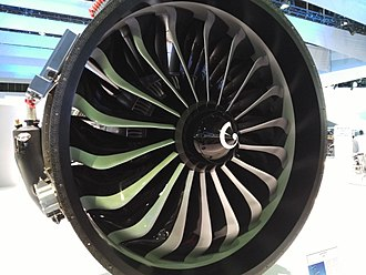 CFM International LEAP - 18 blades fan