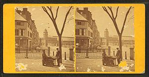 Park Square (Boston) - Image: Park square, by John B. Heywood