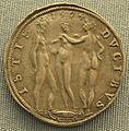 Parma, mezzo scudo con le tre grazie di alessandro farnese, 1574.JPG