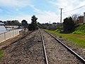 Part of the Eugowra railway line in Cowra August 2020.jpg