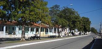 San Luis, Pinar del Río - The Paseo Juana Romero
