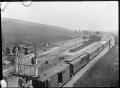 Passenger train at the racecourse platform, Wingatui Junction ATLIB 292086.png