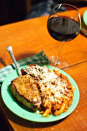 A food and wine pairing with the Italian wine ...