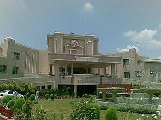 Ramdev - A view of Patanjali Yogpeeth in Haridwar (Uttarakhand) India