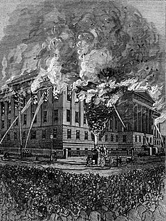 1877 us patent office fire wikipedia