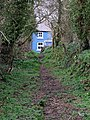 Path to a blue house - geograph.org.uk - 1246979.jpg