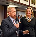 Paul Renner comments on the House floor with Heather Fitzenhagen at his side.jpg
