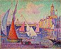 Paul Signac - St. Tropez Harbor. 1899.jpg