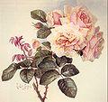 Paul de Longpré - roses and bumblebee, 1898.jpg