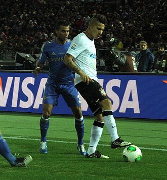Paolo Guerrero - Guerrero for Corinthians against Chelsea.
