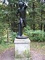 "Pavlovsk Park. Twelve tracks. The outer circle. Statue of ""Acteon""..JPG"