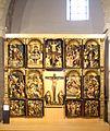 Peñafiel - Iglesia de Santa María - Retablo de las Ánimas, atribuido a Felipe Bigarny.jpg