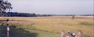 Battle of Pea Ridge - Lee Town fight
