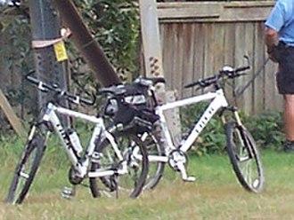 Peel Regional Police - Image: Peelpolicebikes