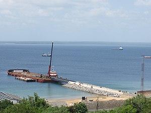 Pemba Bay - Image: Pemba port development (8443551123)