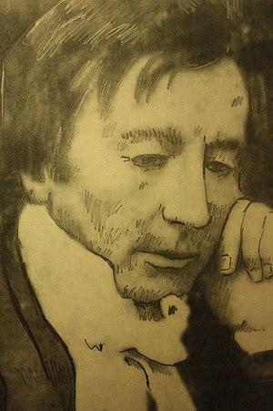 Thomas Jackson Crawford - Pencil sketch of Thomas Jackson Crawford c.1843