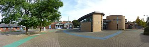Pendeford - A panoramic image of Pendeford Square