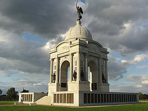 National Register of Historic Places listings in Pennsylvania - Gettysburg National Military Park, Adams County