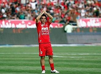 Mehdi Mahdavikia - Mahdavikia in his last match for Persepolis