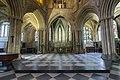 Pershore Abbey, interior east end (33231050341).jpg