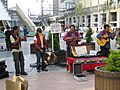 Peruvian music group Rupay in Akihabara Station West Square (2005-07-31 15.33.14 by Colin McMillen).jpg