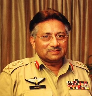 Pervez Musharraf - Musharraf in four-star army uniform, PA, ca. 2007.