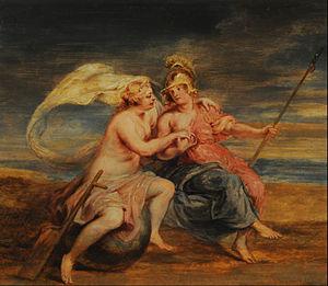 Museo Nacional de Bellas Artes (Buenos Aires) - Image: Peter Paul Rubens Alegoría de la Fortuna y la Virtud Google Art Project