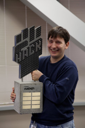 Petr Mitrichev - Petr Mitrichev after winning the Facebook Hacker Cup 2011