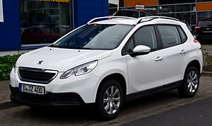 Crossover (automobile) - Peugeot 2008, a crossover in Europe