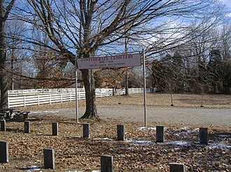 Pewee Valley Confederate Cemetery - Image: Pewee Valley Confederate Cemetery 004