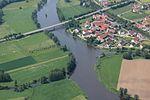 Pfreimd Iffelsdorf Mündung Pfreimd in Naab 29 Mai 2016.JPG