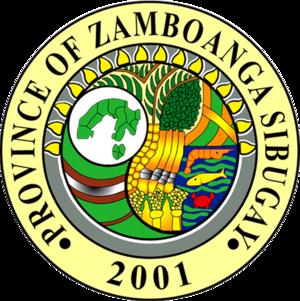 Zamboanga Sibugay - Image: Ph seal zamboanga sibugay