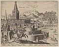 Philip Galle, after Maerten van Heemskerck, Babylonis Muri (The Walls of Babylon), 1572, NGA 156113.jpg