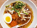 Pho noodles in tomyam soup, Bangkok, 2017-11-12 (3).jpg