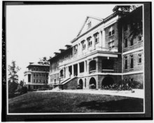 Old image of buildings at Sullins College, Bristol, Virginia