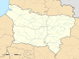 Épagny is located in Picardy