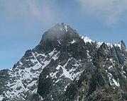 El Pico Bolívar, en Venezuela, con 4978msnm.