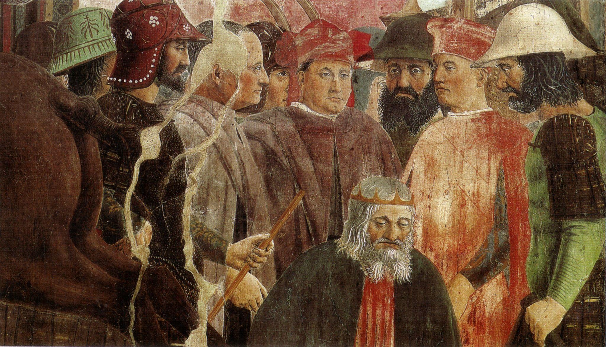 Piero, esecuzione di cosroe