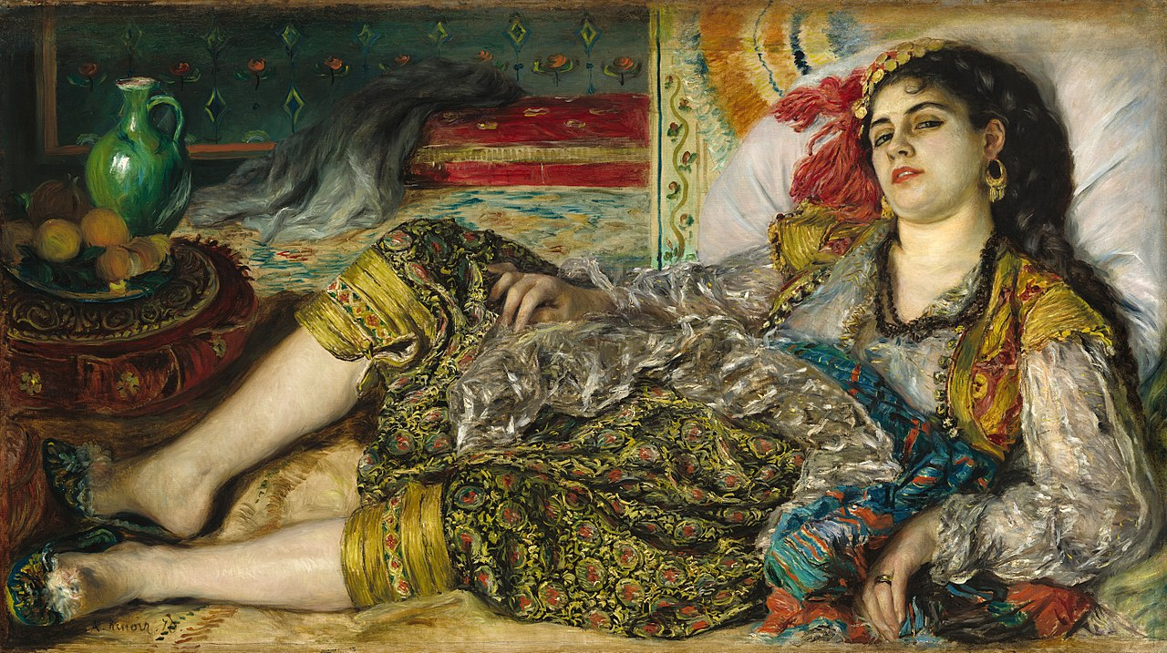Image result for une odalisque renoir