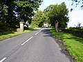 Piers Gate at the junction with the road to Matfen - geograph.org.uk - 251488.jpg