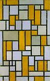 Piet Mondriaan, 1918 - Composition with Gray and Light Brown.jpg