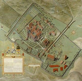 Ten Duinen Abbey - Pieter Pourbus, Ten Duinen Abbey (1571)