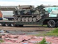 Pig on a Low Loader - geograph.org.uk - 440433.jpg
