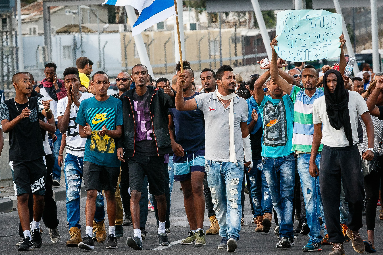 PikiWiki Israel 43079 Demonstration of Ethiopian residents in Tel-Aviv.jpg