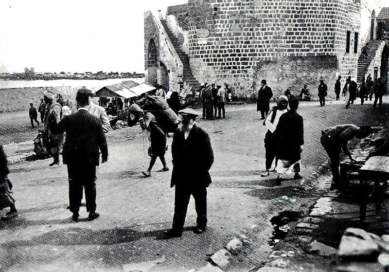 רציף נמל בחיפה