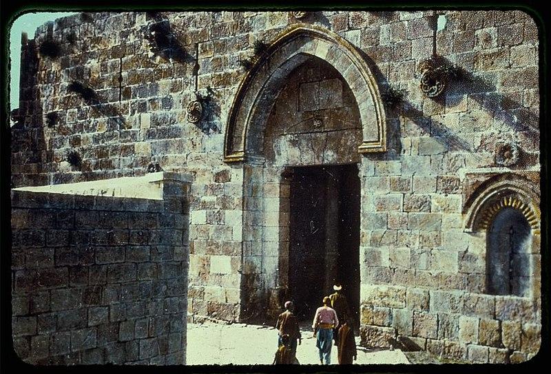 שער ציון ירושלים