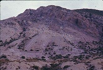 Mount Owen (Tasmania) - North side of Mount Owen from Linda Valley taken in 1970s