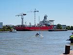 Pipelay vessel Seven Sun - Koninklijke IHC - Kinderdijk (18346811469).jpg